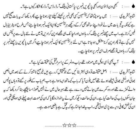 Did you enjoyed this interview of Shahif Afridi in Urdu?